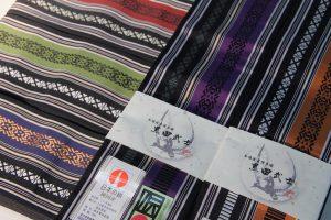 博多織の男帯(日本の絹仕様)