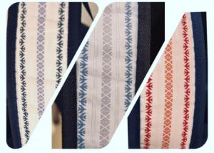 吉田かばんと福岡大学と筑前織物のコラボレーション