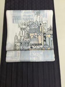 博多織の着尺と帯