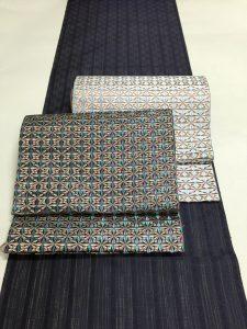 博多織の着尺と八寸なごや帯