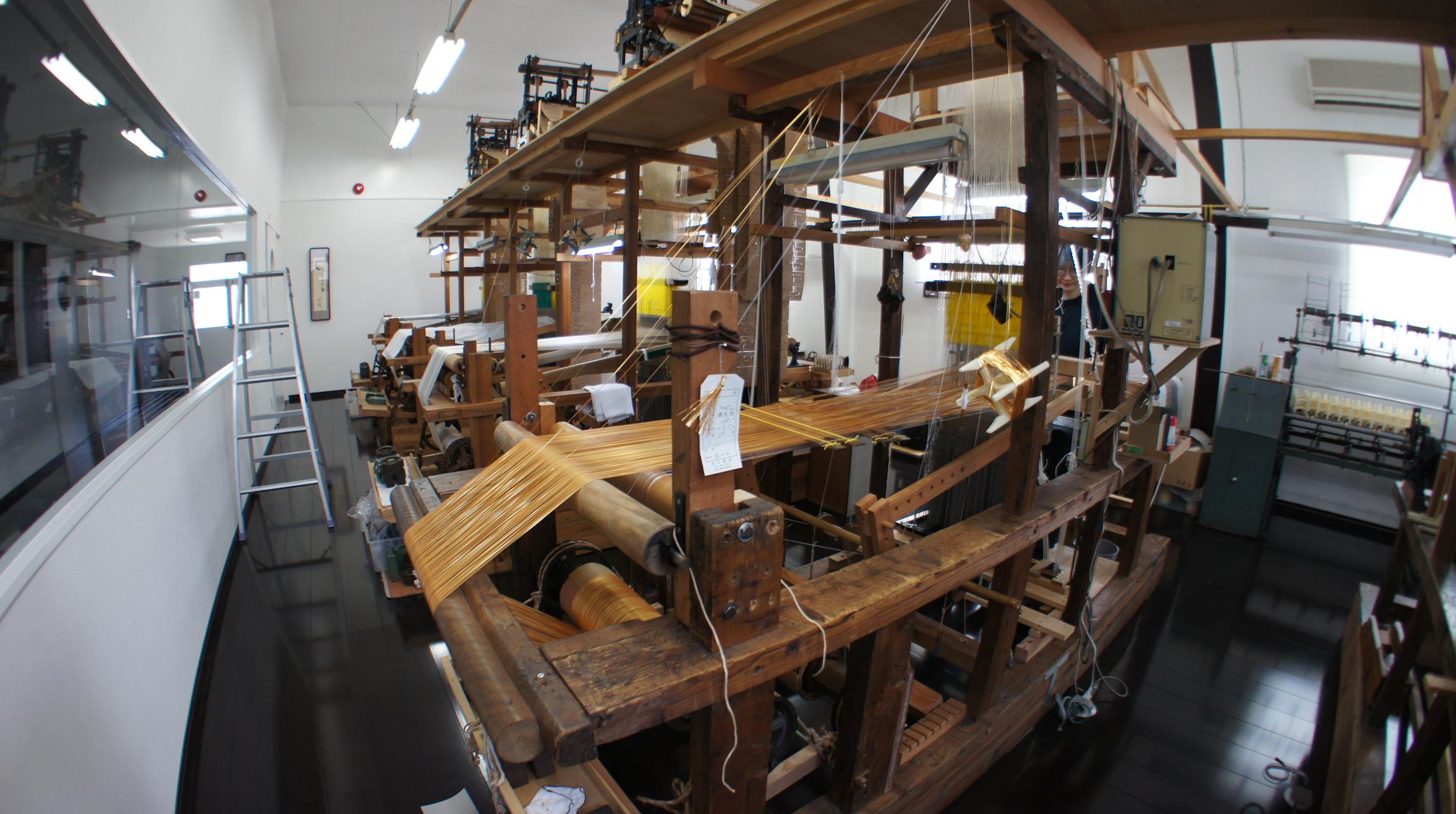 福絖織物手織工房