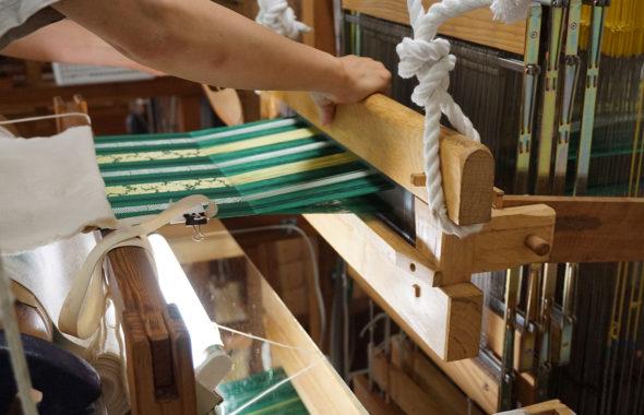 手織り職人