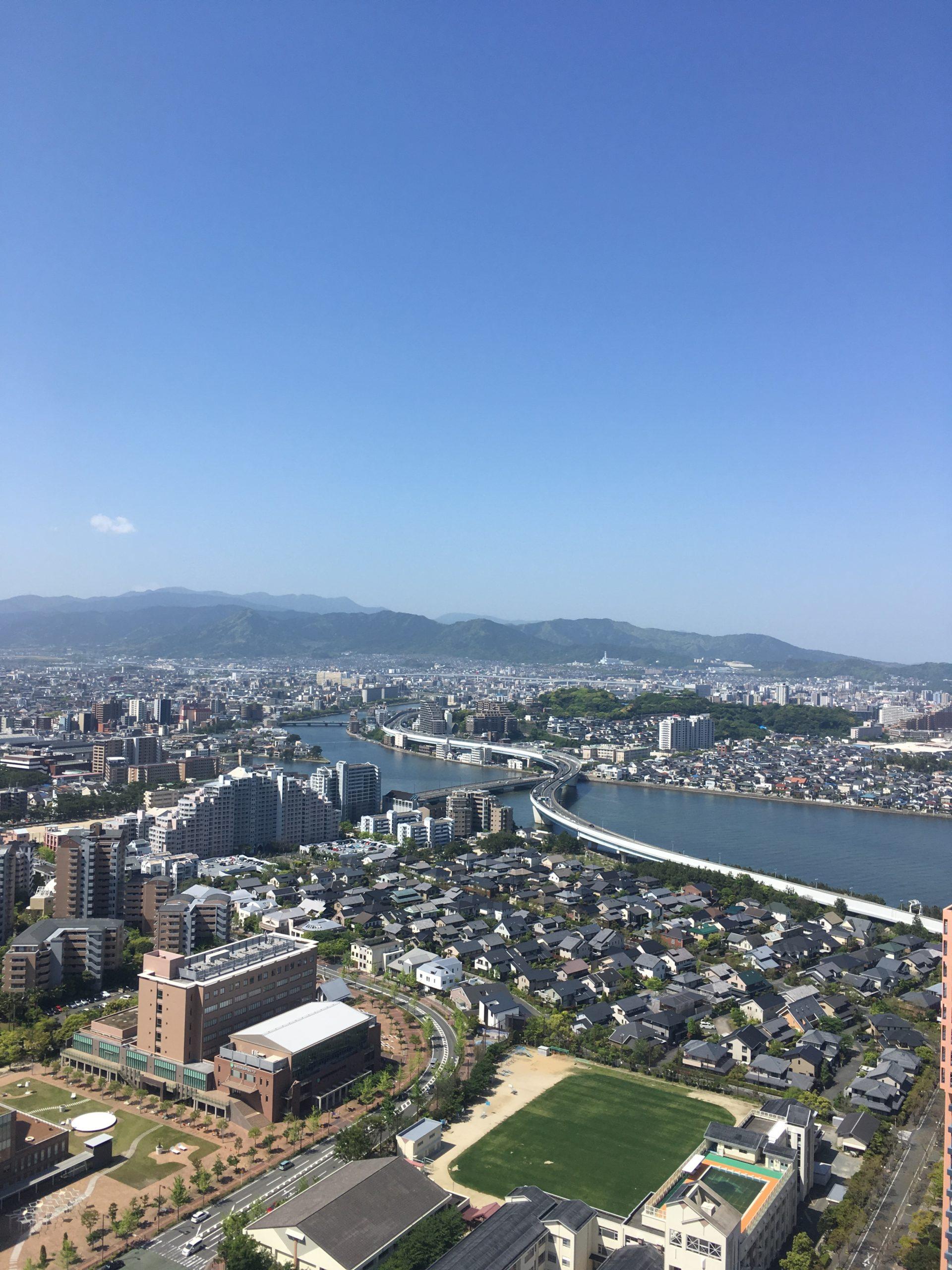 福岡タワー最上階