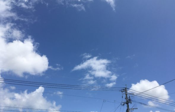 周船寺の空